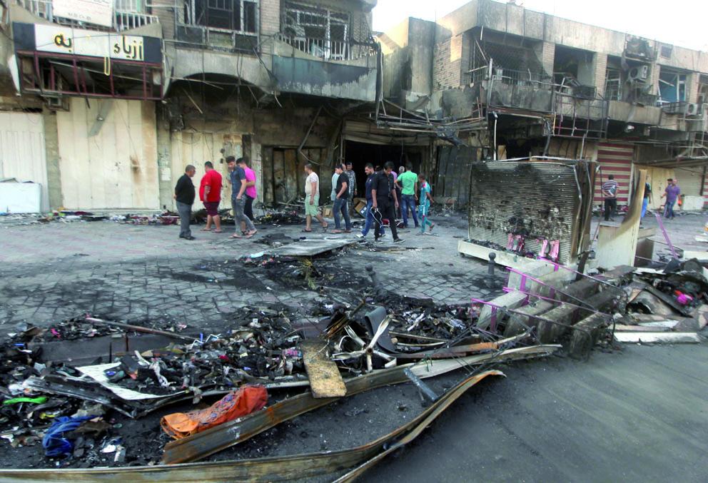 Une vingtaine de personnes tuées dans un double attentat de l'EI dans des quartiers chiites à Bagdad