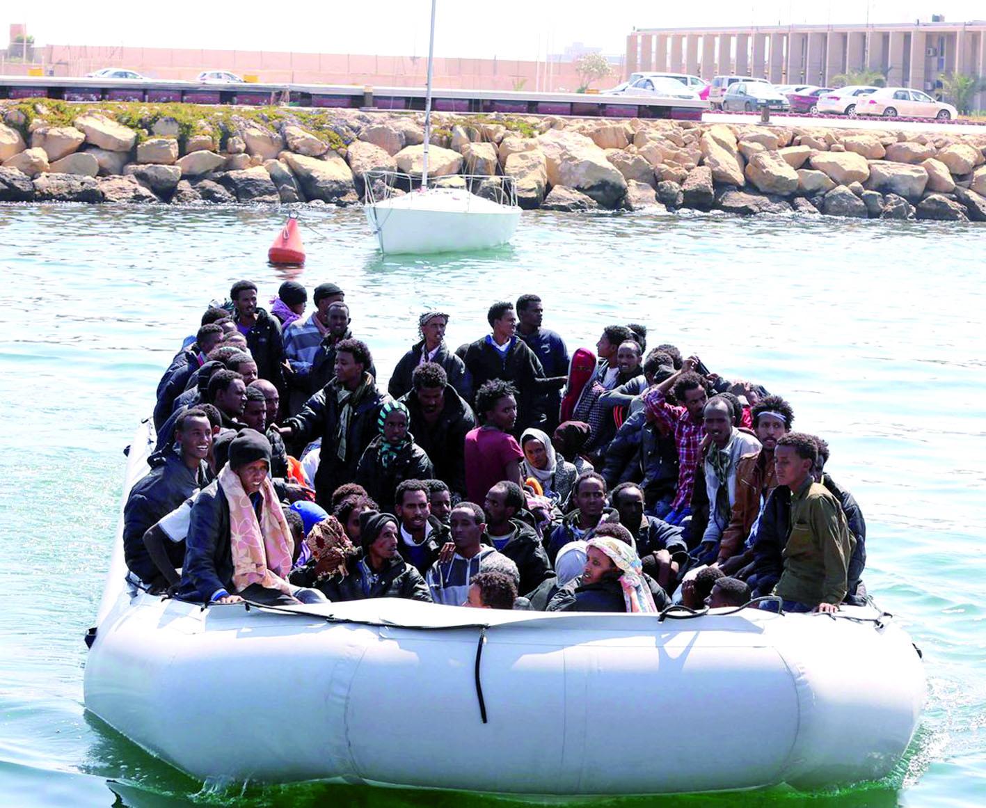 Des migrants périssent dans le naufrage d'un  bateau pneumatique au large des côtes libyennes