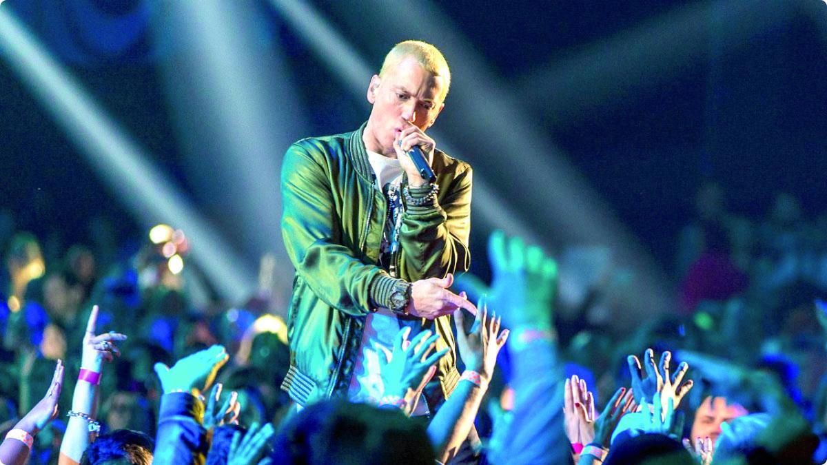 Portrait : Eminem