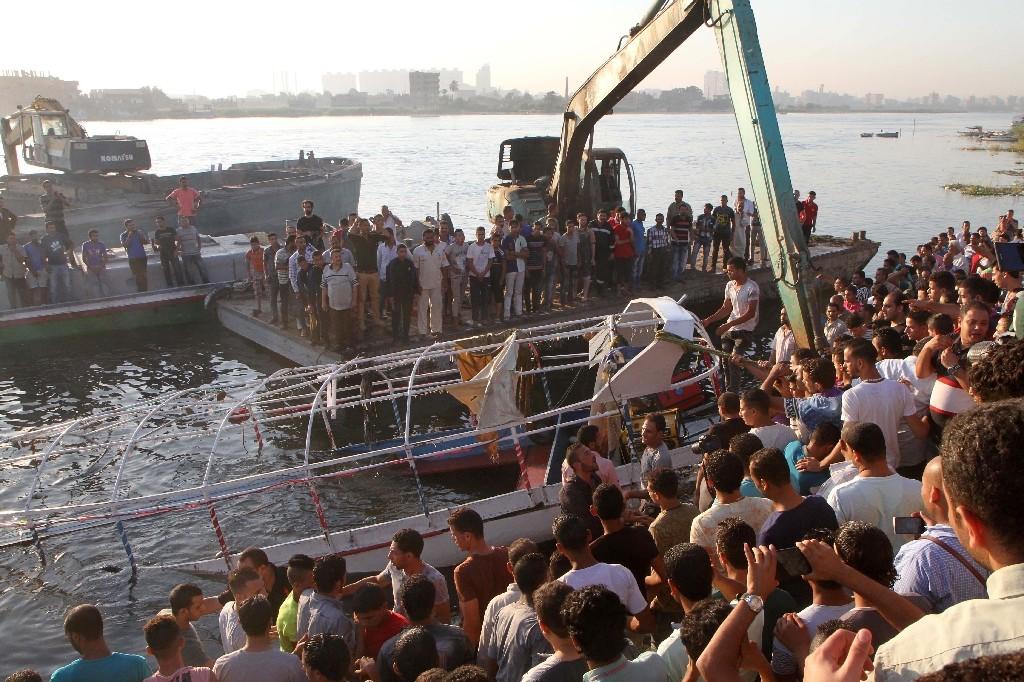 Accident de bateau sur le Nil: 36 morts, selon un nouveau bilan