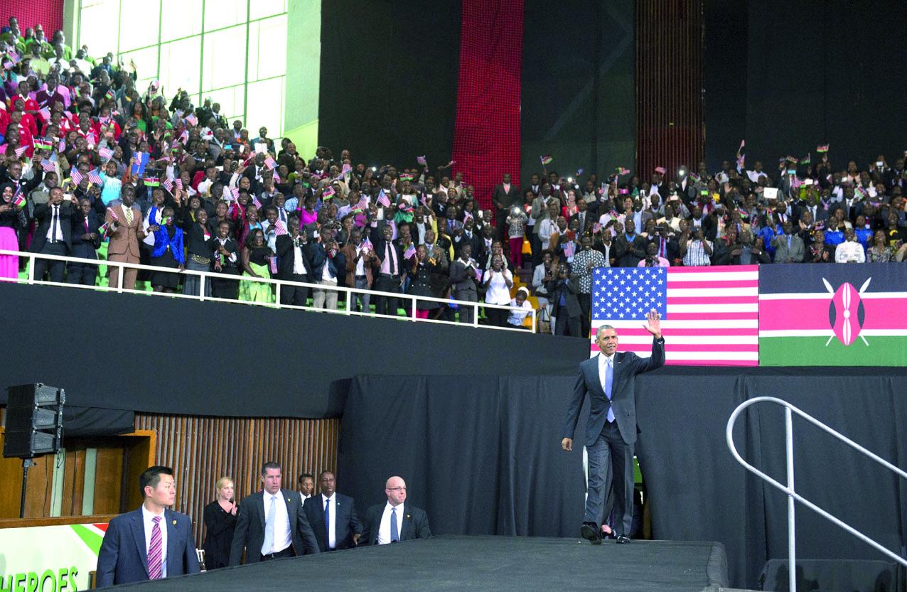 Après le Kenya, Obama en Ethiopie