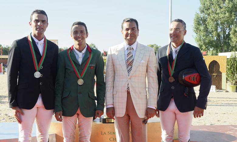 Ali Al Ahrach remporte le GP S.M le Roi  Mohammed VI de saut d'obstacles