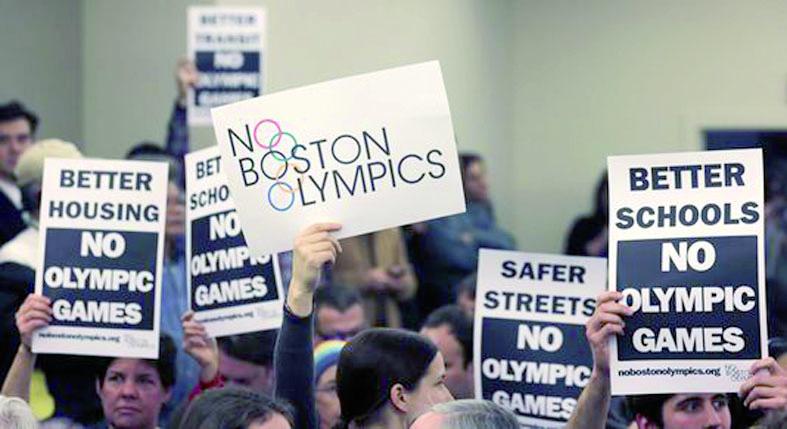 Faute de soutien populaire, Boston  renonce à sa candidature aux JO de 2024