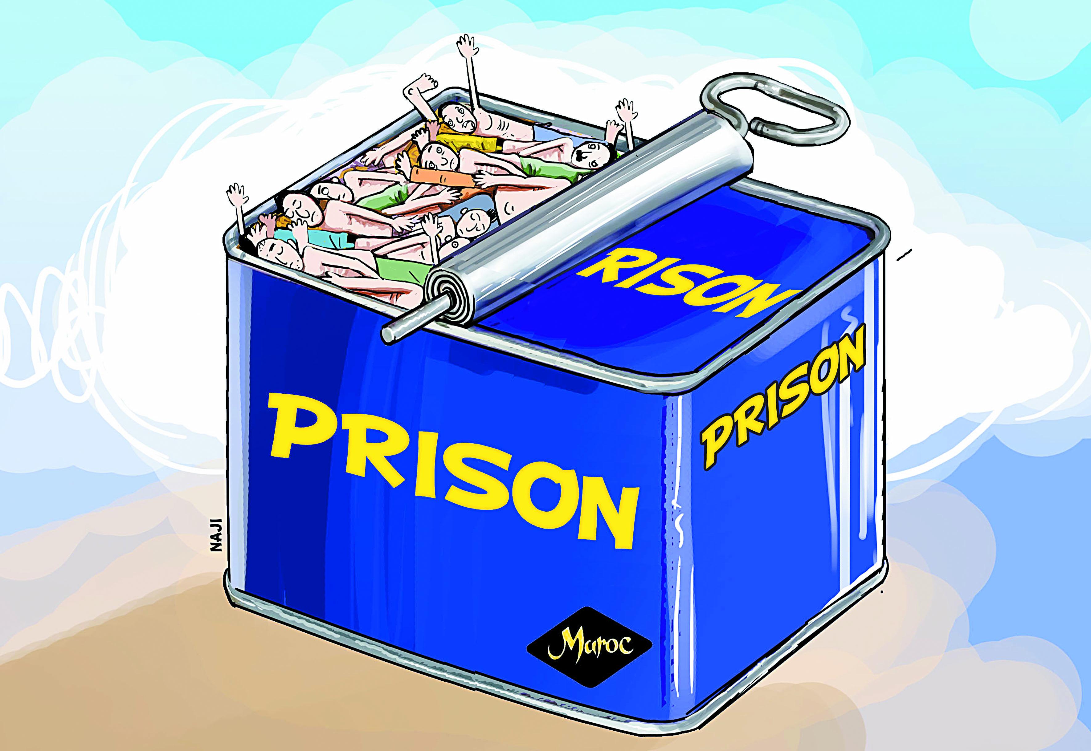 Radioscopie des  prisons marocaines