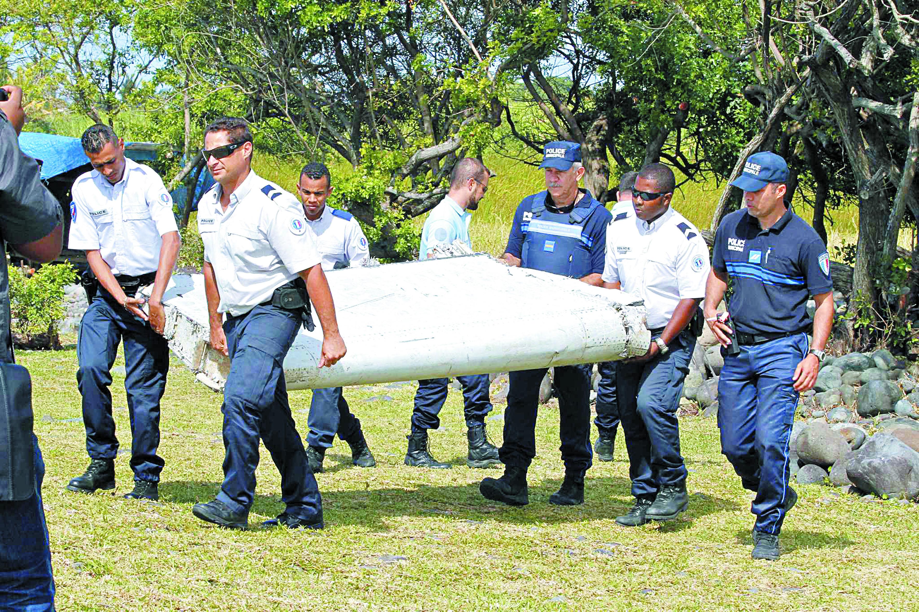 Les débris de La Réunion n'aideront pas à localiser l'avion de Malaysia Airlines