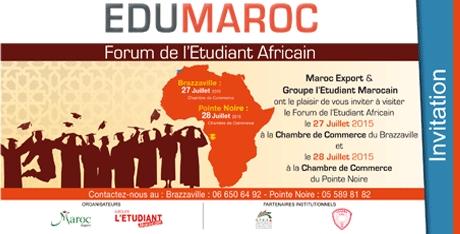 """La Caravane """"Edu-Maroc 2015"""" fait escale à Brazzaville et à Pointe-Noire"""