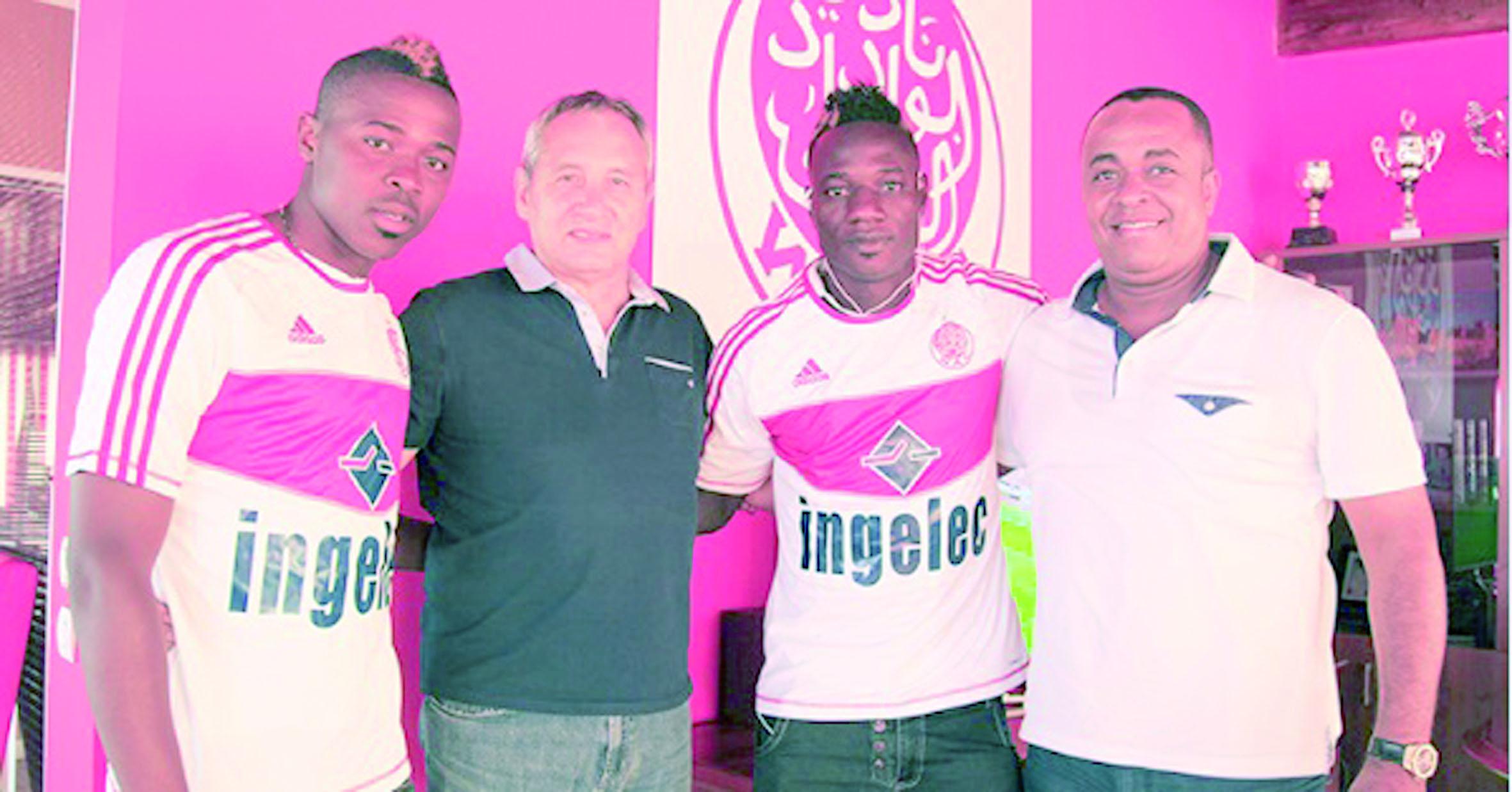 Sissoko et Sissé, les dernières recrues maliennes du WAC