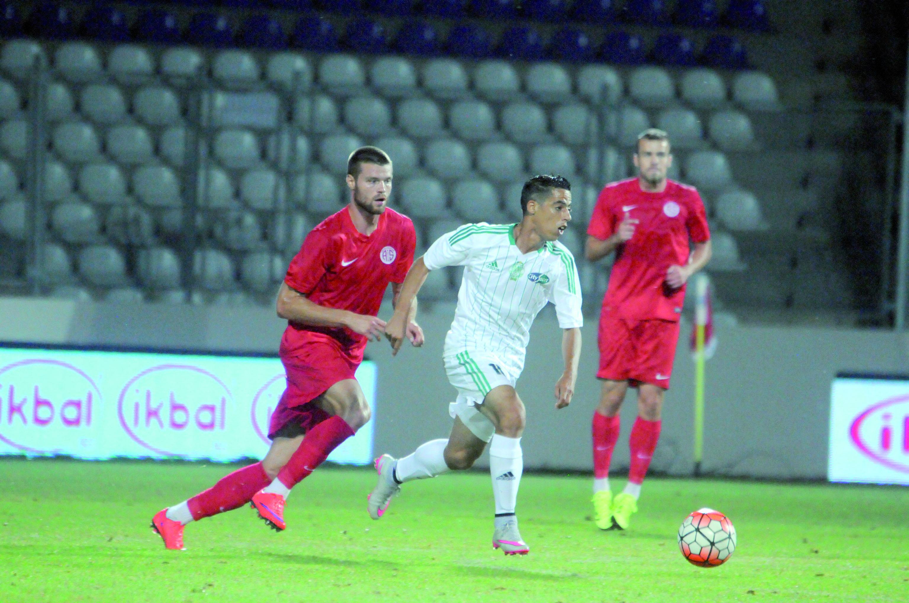 Le Raja et Antalyaspor se neutralisent