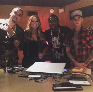 Le Marocain French Montana  collabore avec Mariah  Carey et Justin Bieber
