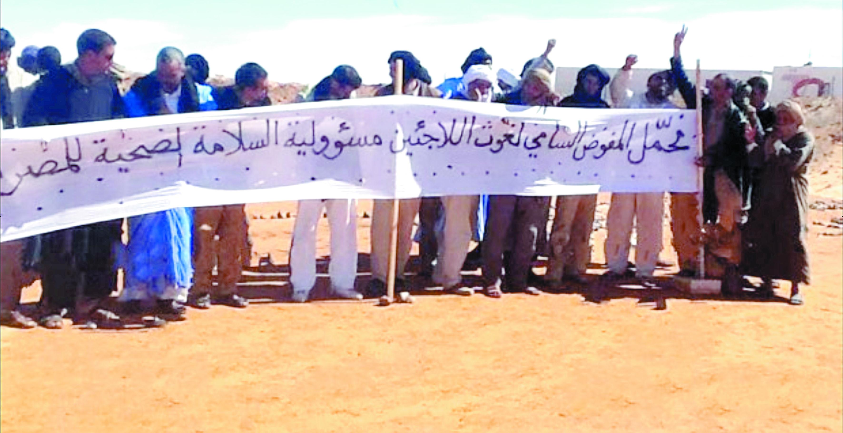 Le HCR prend langue avec les  anti-Polisario des camps de Tindouf
