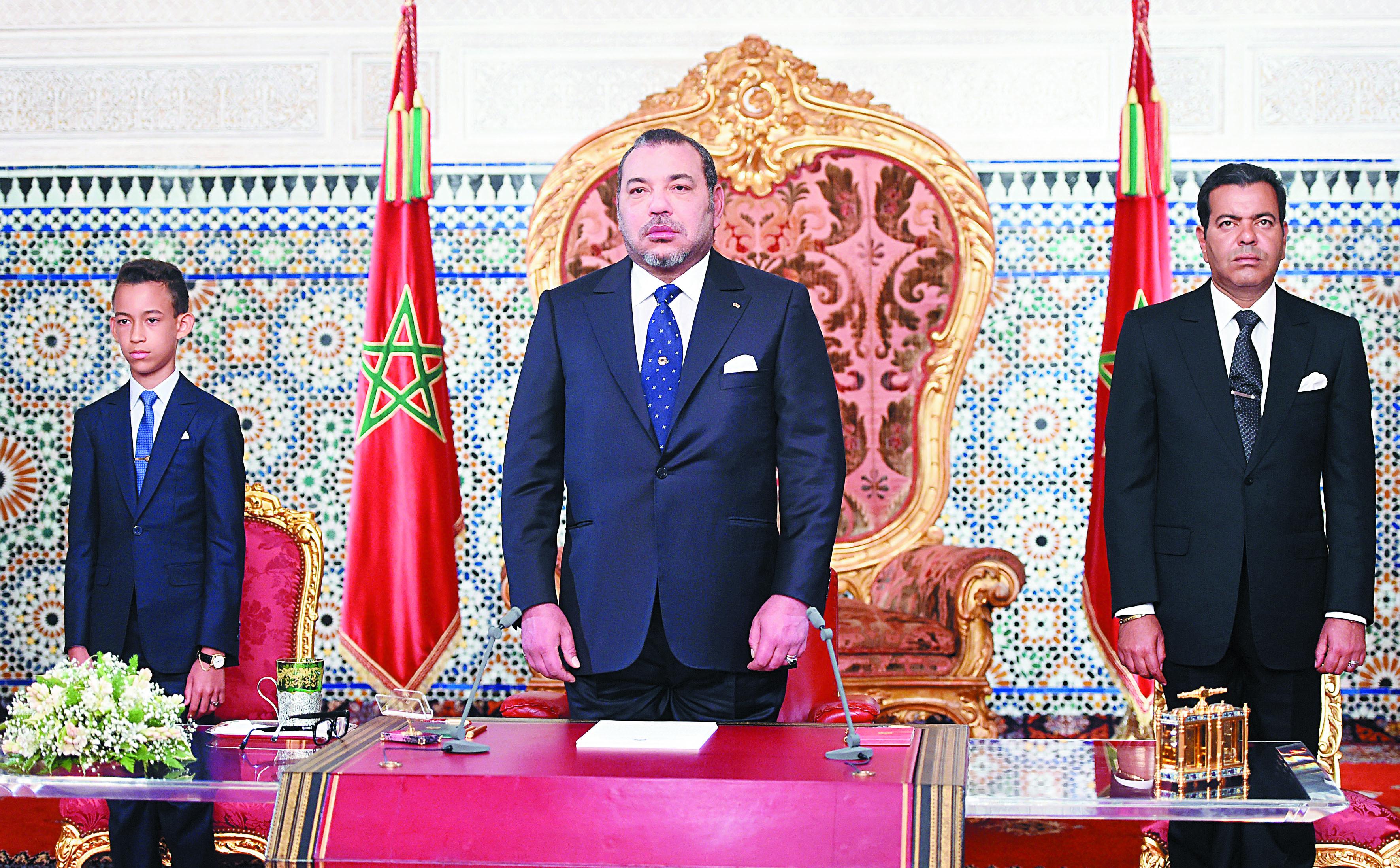 Le discours Royal du 30 juillet dernier a accordé une grande importance aux problèmes des Marocains du monde.              Ph. MAP