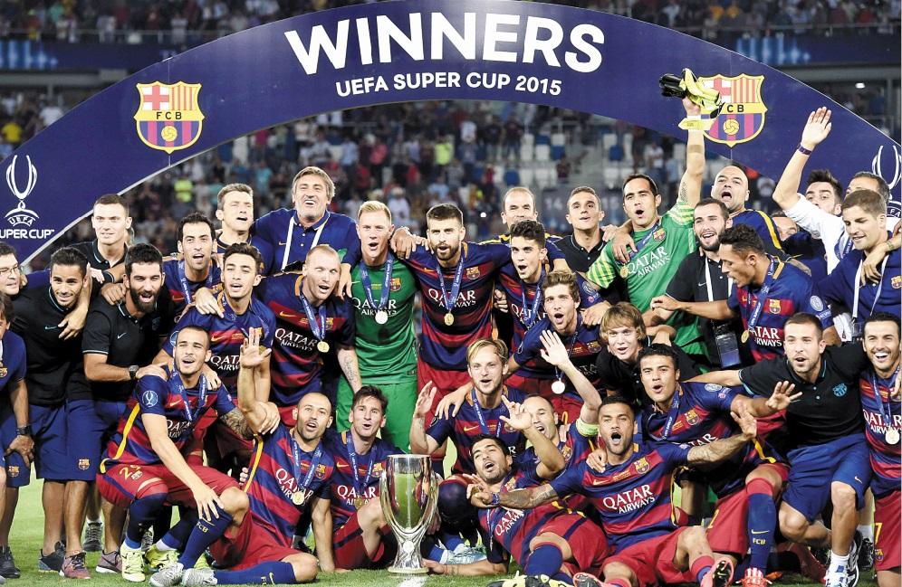 A l'arrachée le Barça s'offre la Supercoupe d'Europe