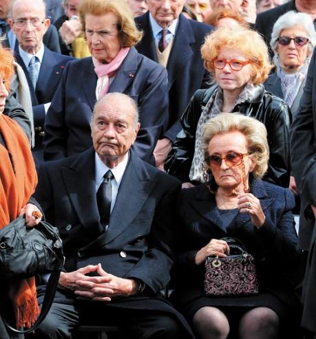 Le quotidien désagréable de Jaques Chirac