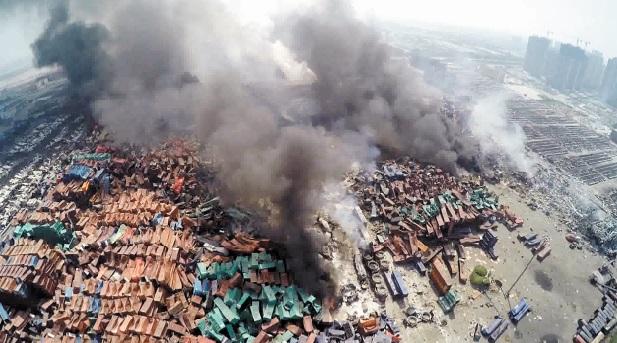 Inquiétudes à Tianjin sur des rejets de composants toxiques