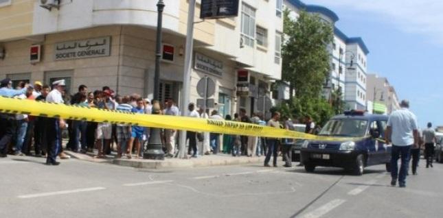 Tentative de braquage d'un véhicule de transport de fonds à Tanger