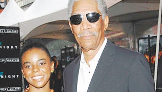La petite fille de Morgan Freeman sauvagement assassinée