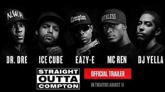 """Les rappeurs de """"Straight Outta Compton"""" dominent le box-office"""