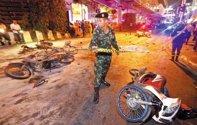 La barbarie frappe un sanctuaire religieux à Bangkok