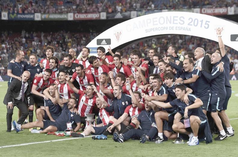 Barcelone dompté par Bilbao en Supercoupe d'Espagne