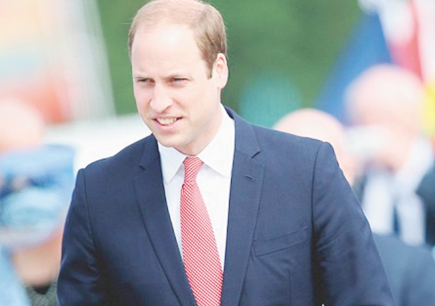 Le prince William voyage en Low Cost