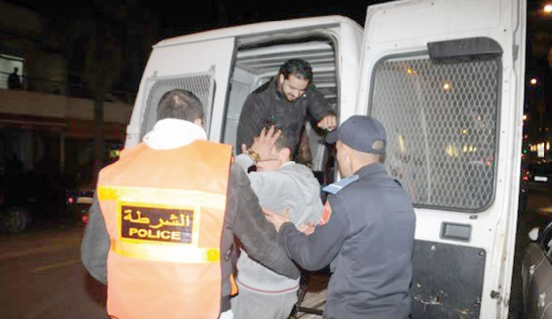 Arrestation de 5.375 personnes à Marrakech pour divers crimes et délits