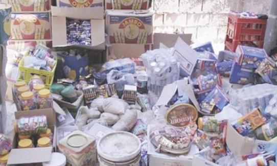 Saisie de 62 tonnes de produits impropres à la consommation