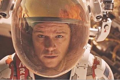 Matt Damon, ''seul sur Mars''