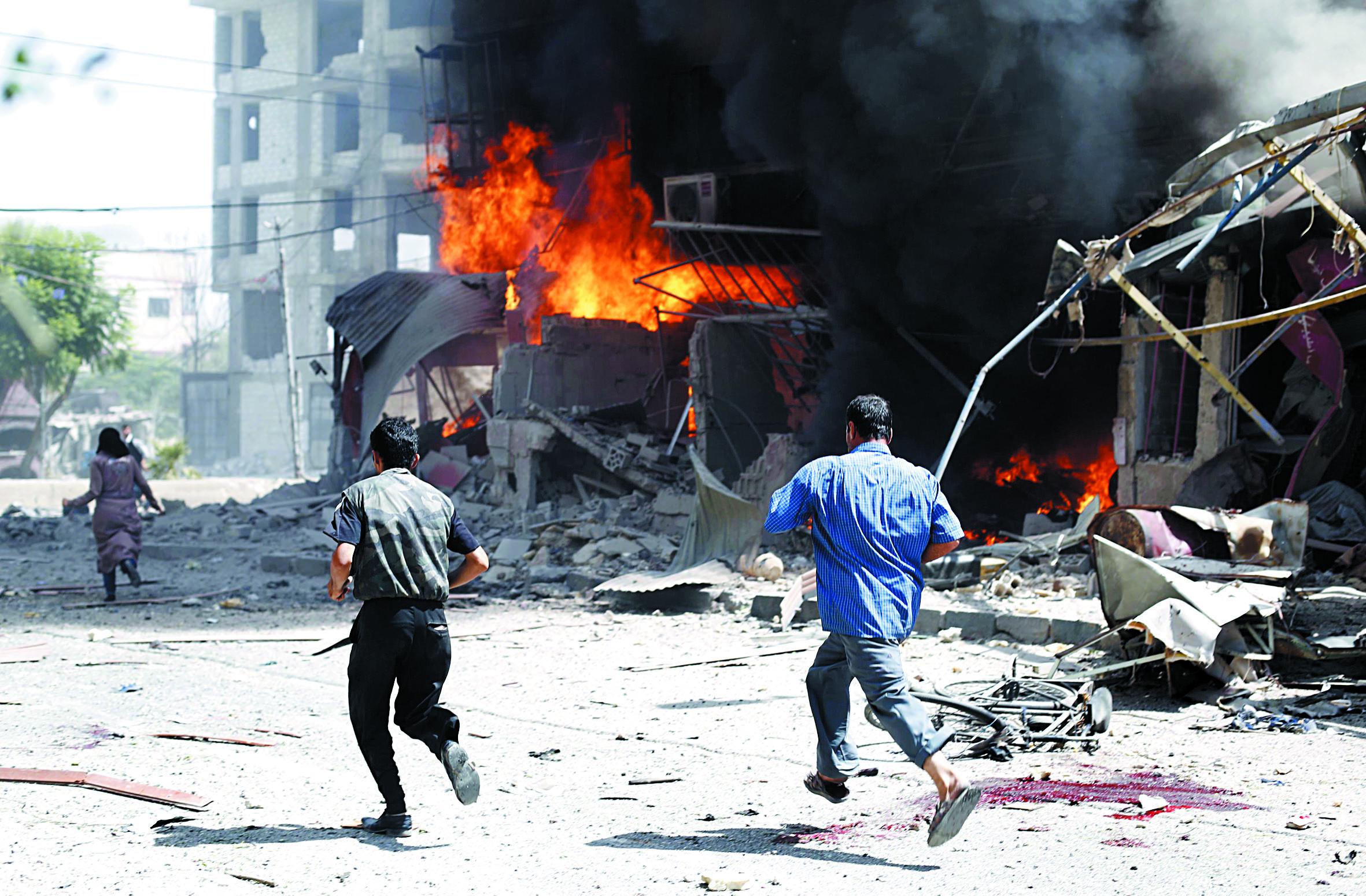 Nouveaux raids meurtriers  du régime près de Damas