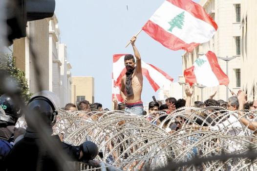 Les manifestants ne désarment pas à Beyrouth