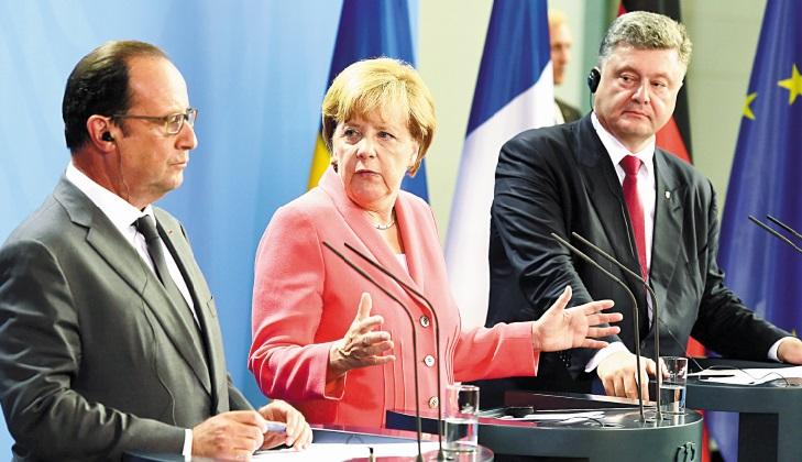 Merkel et Hollande pour une réponse unifiée de l'UE quant aux migrants
