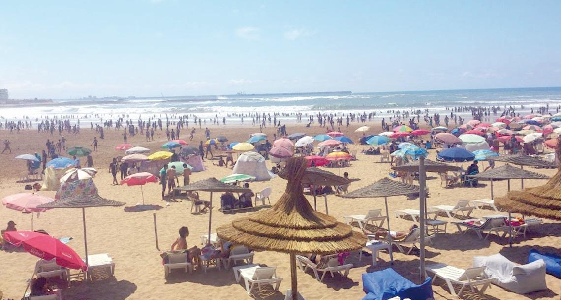 L'informel sur les plages de Mohammedia source d'enrichissement pour cartel averti