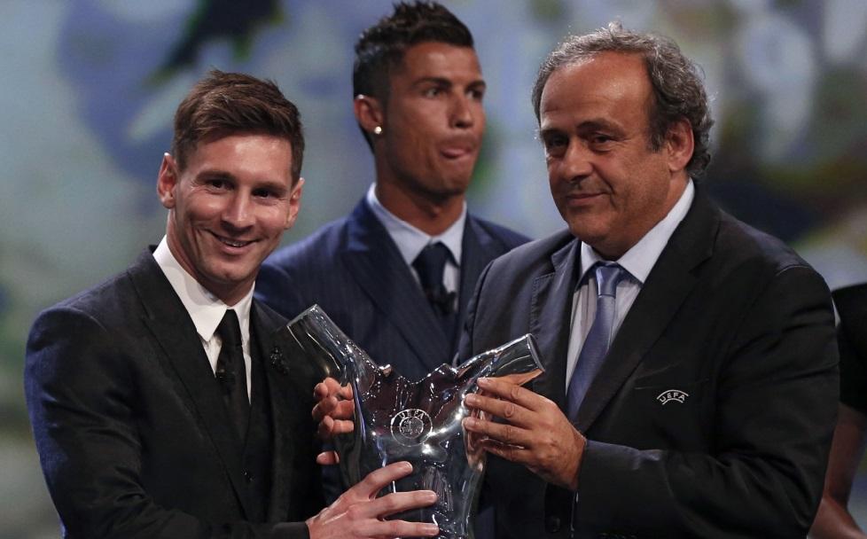 Messi, meilleur joueur de la saison UEFA