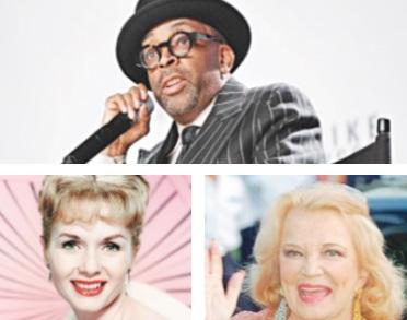 Un Oscar d'honneur pour Spike Lee, Gena Rowlands et Debbie Reynolds