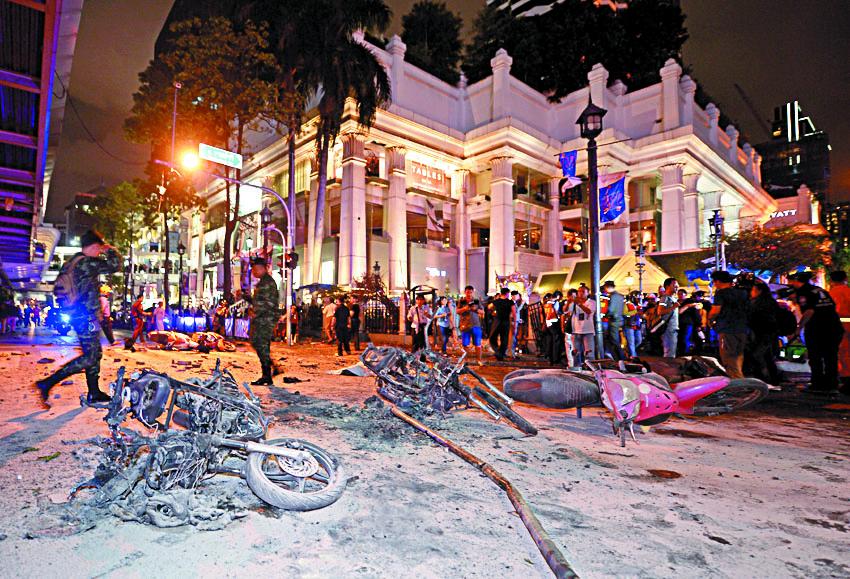 Le suspect de l'attentat de Bangkok est un étranger