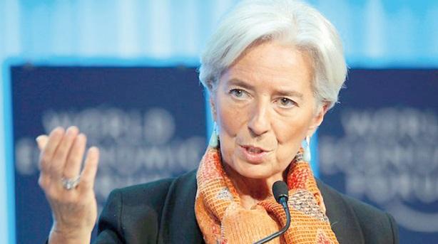 Lagarde voit une croissance mondiale plus faible que prévu