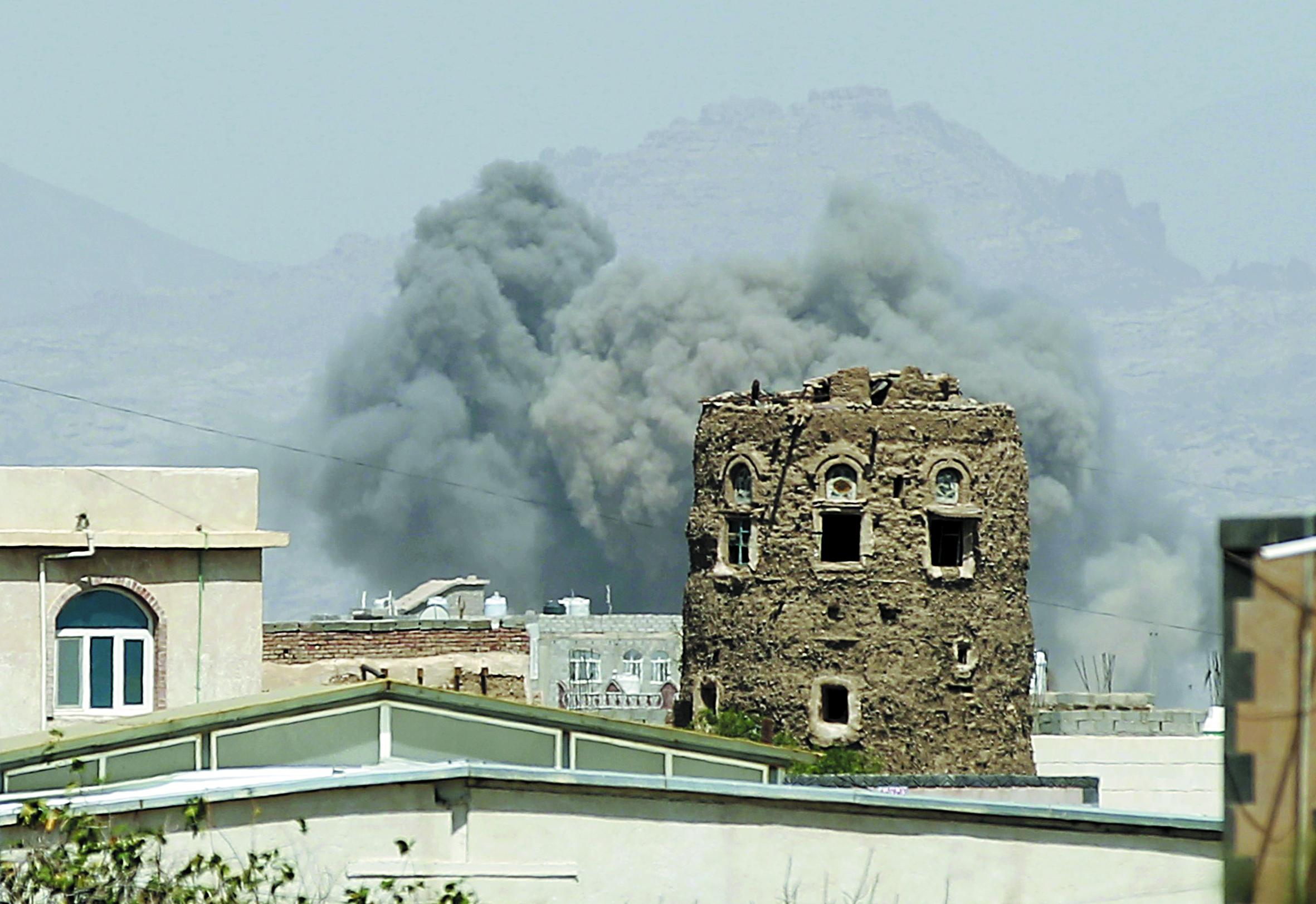Violents raids de la coalition sur Sanaa