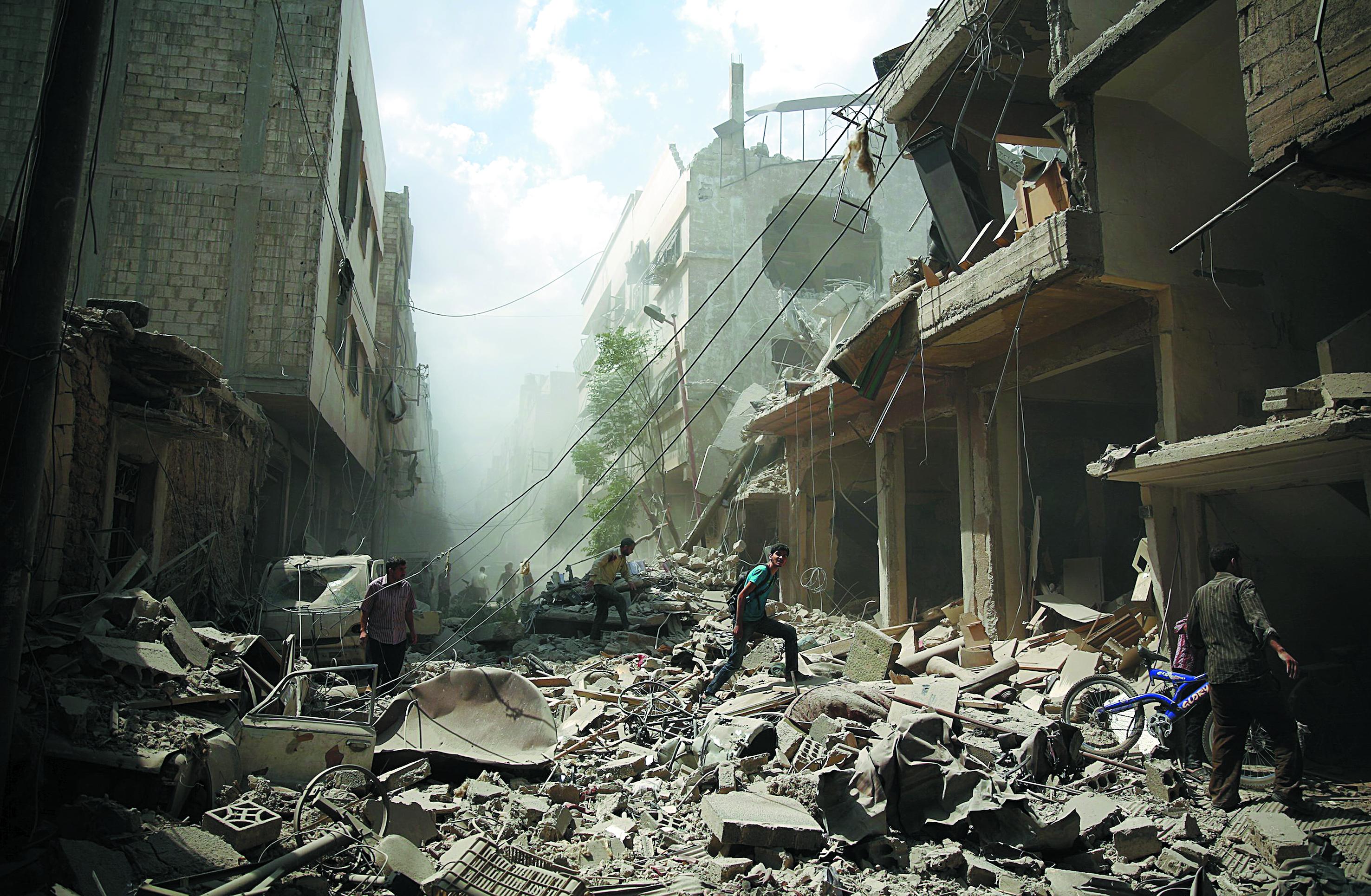 Washington s'inquiète auprès de Moscou de son éventuel engagement militaire en Syrie