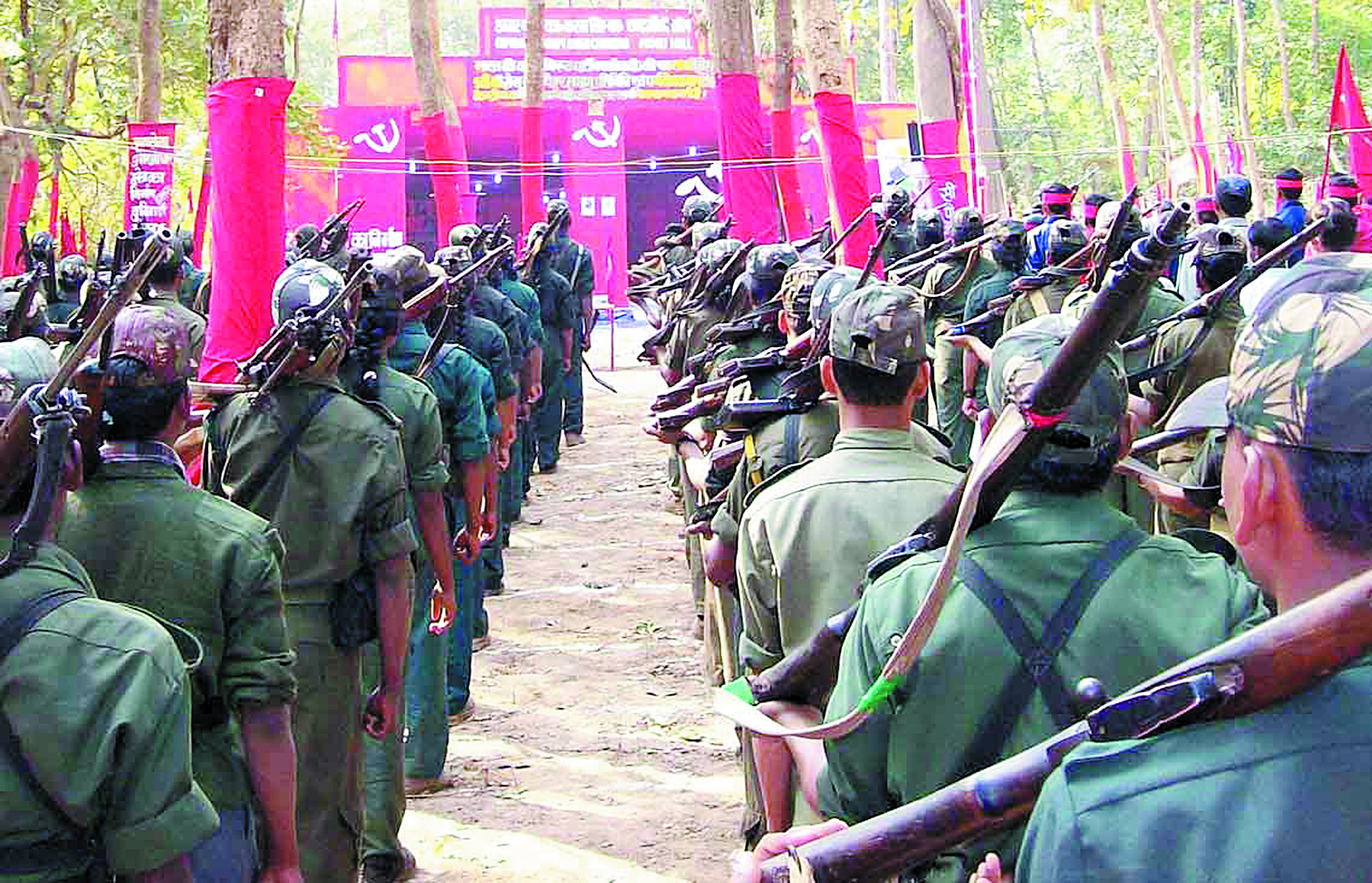 En Inde, les communautés tribales prises au piège  de la guérilla maoïste