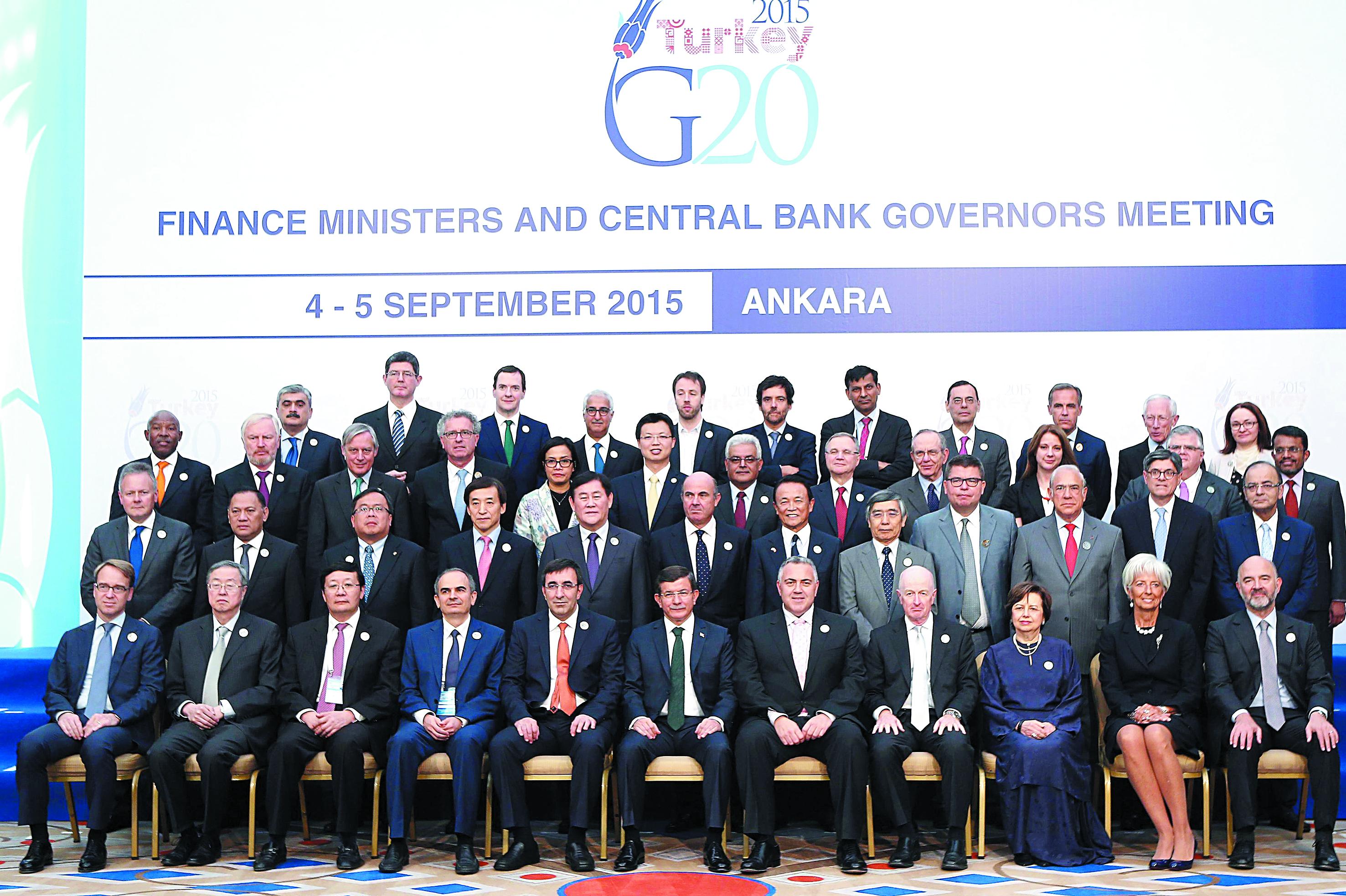 Le G20 Finance fait une place aux migrants dans des débats dominés par la Chine