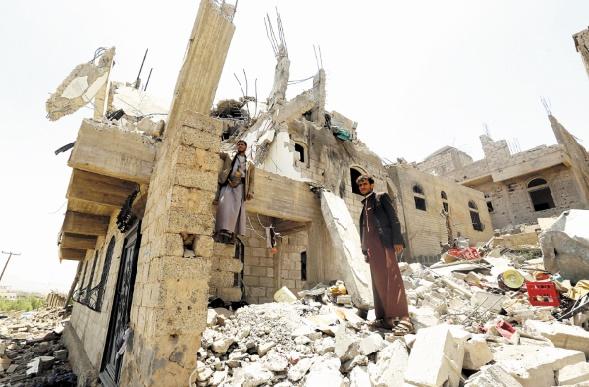 Nouveaux bombardements de Sanaa età Bayhan par la coalition