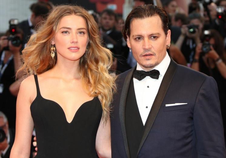 Amber Heard folle de Johnny Depp à la Mostra de Venise