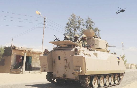 """Vaste opération militaire"""" dans le Sinaï, 29 jihadistes tués"""