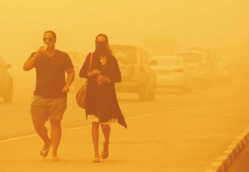 Au moins huit morts dans une tempête de sable au Proche-Orient