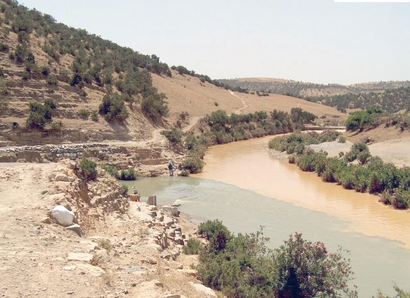 Des jeunes issus de trois bassins fluviaux différents au chevet de l'Oued Sebou