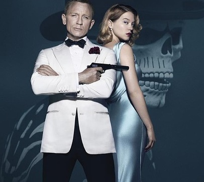 """Léa Seydoux s'invite sur la nouvelle affiche de """"James Bond: Spectre"""""""