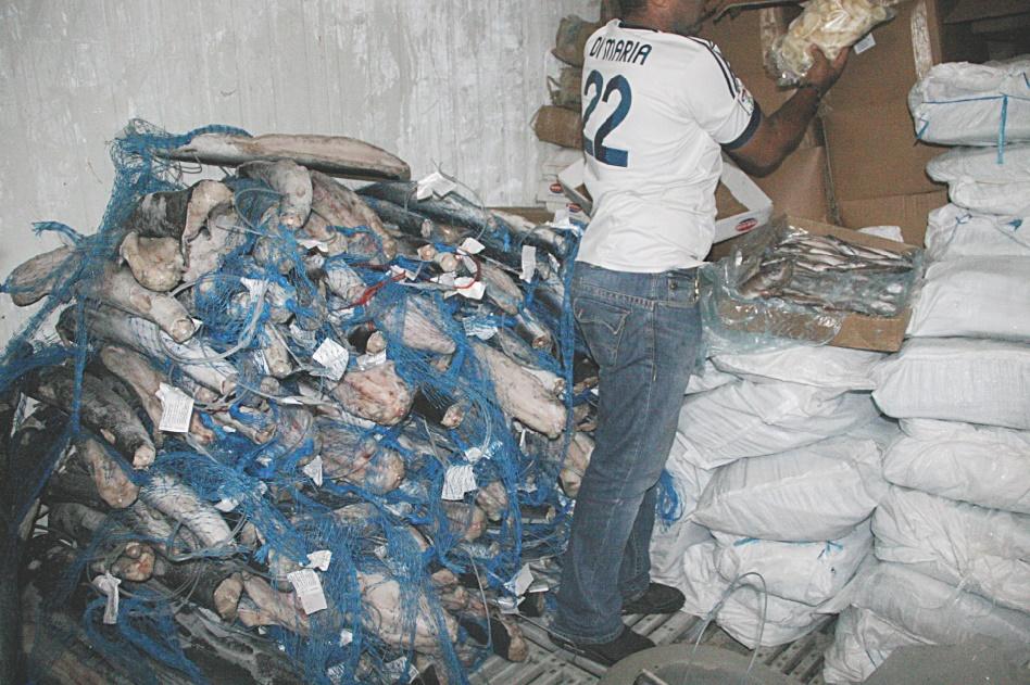 Contrôles en panne : Produits avariés et saisies après coup
