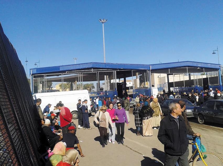 Des réfugiés syriens prennent d'assaut Mellilia
