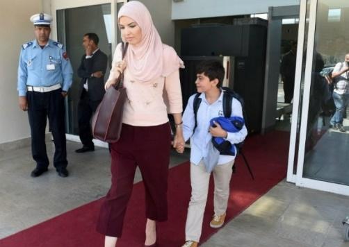 L'enfant Haider Jalabi a regagné le Maroc