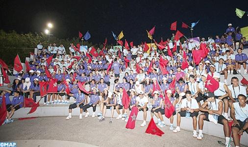 Coup d'envoi à Bouznika des 1ères Olympiades de la jeunesse et de l'avenir