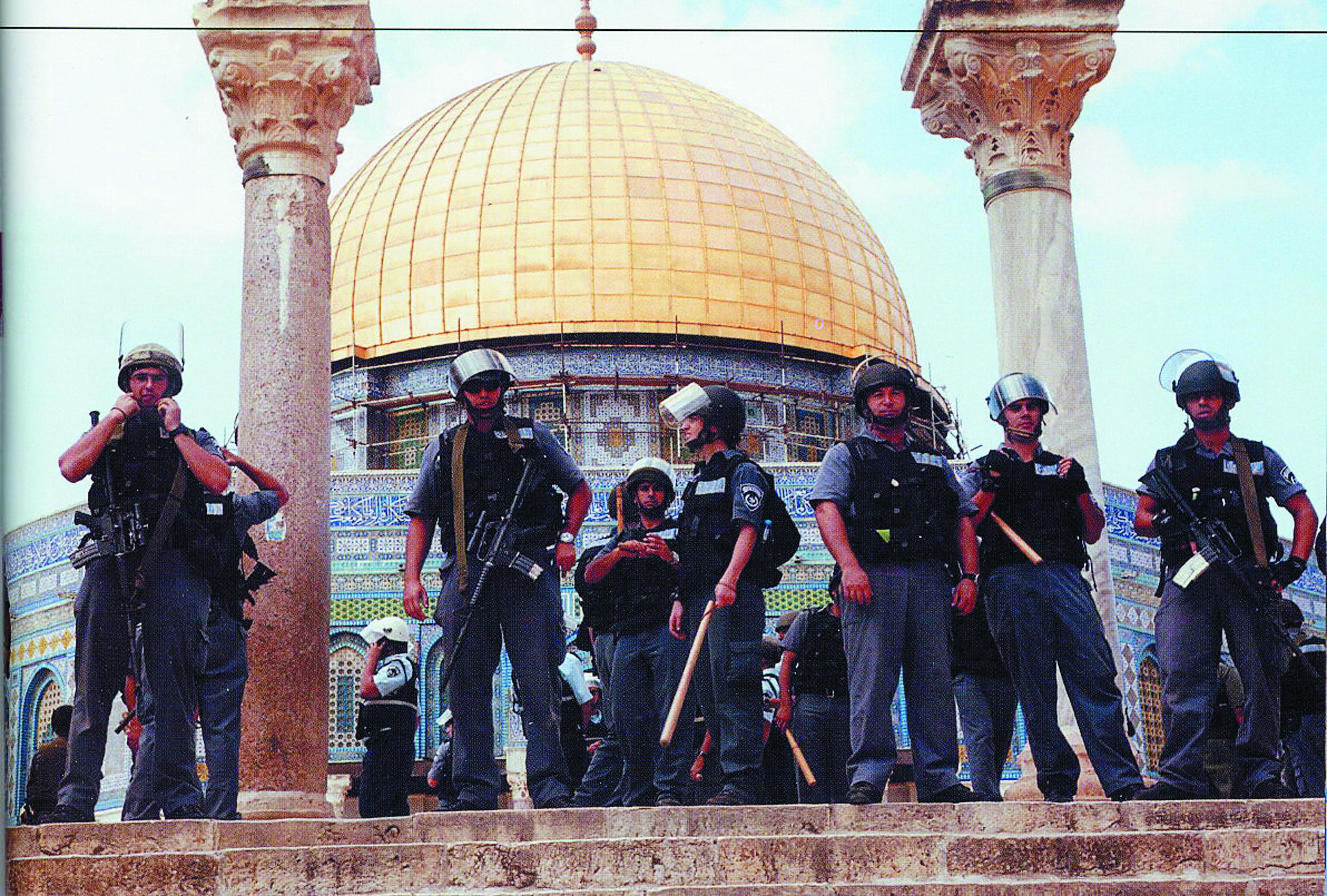 Violents  affrontements sur l'Esplanade des Mosquées
